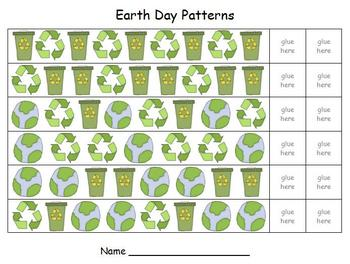 Earth Day Math - Patterns