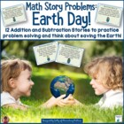 Math Story Problems: Earth Day