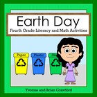 Earth Day Math and Literacy Activities Fourth Grade Common Core