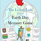 Earth Day Memory Game Center