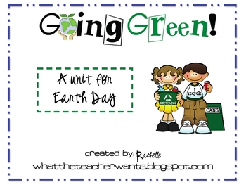 Earth Day Mini-Unit {Freebie}