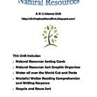 Earth Day - Natural Resources Unit