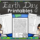 Earth Day  Printables and Worksheets