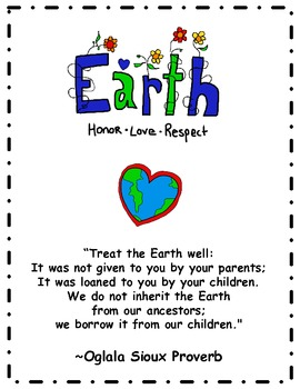 Earth Day Proverb