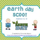 Earth Day Scoot - Addition to 10