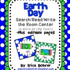 Earth Day Search/Read/Write the Room {Y and ie as long i}