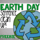 Earth Day Sentence Editing Freebie