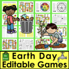 Earth Day Sight Words Game Boards-First 106 Dolch Words -