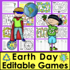 Earth Day Sight Words Game Boards-Last 114 Dolch + 10 Nouns