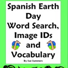 Earth Day Spanish Word Search and Vocabulary List