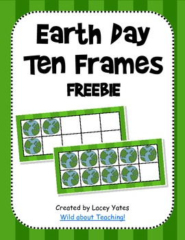 Earth Day Ten Frames-FREE