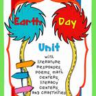 Earth Day Unit with Literacy &amp; Math Centers