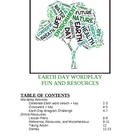 Earth Day Wordplay Fun and Resources