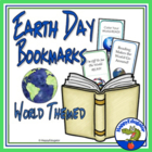 Earth Day - World Themed Bookmarks