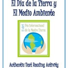Earth Day/Día de la Tierra y El Medio Ambiente - Authentic