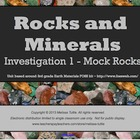 Earth Materials Rocks & Minerals - SMARTboard Mock Rocks I