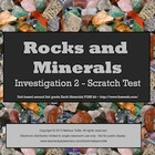 Earth Materials Rocks & Minerals SMARTboard Scratch Test I