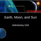 Earth, Moon, and Sun Power Point Presentation