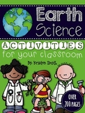 Earth Science Activities -- Making Science Come To Life!