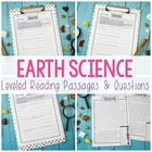 Earth Science Close Reading