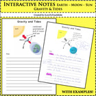 Earth Science - Gravity and Tides - Notepage