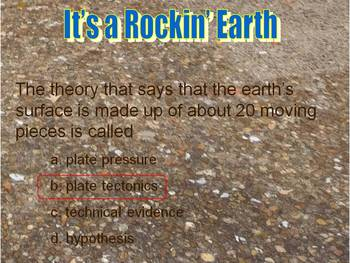 Earth Science- It's a Rockin' Earth- PowerPoint