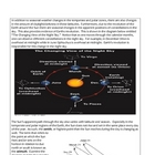 Earth Science Notes - Motion of the Planets (9 - 12)