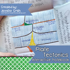 Earth Science- Plate Tectonics Interactive Notebook Unit