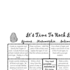 Earth Science: Rock Menu & Resource Page (Mini Books/Org.)
