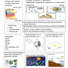 Earth & Space Science study guide