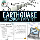 Earthquake Newspaper Project - Geography, Earth Science