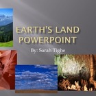 Earth's Features PowerPoint and Memory Game