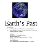 Earth's Past and Present
