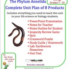 Earthworm Phylum Annelida Segmented Worm Complete Teaching Bundle