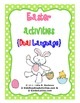 Easter Activities-Dual Language