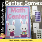 Easter Arrays Concentration, Go Fish & Old Maid for Common Core