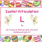 Easter Articulation - L !