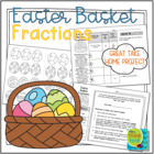 Easter Basket Fractions