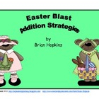 Easter Blast Addition Strategies Game