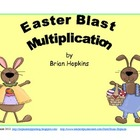 Easter Blast Multiplication Game