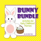 Easter Bunny Bundle:  Activities for Preschool and Early C
