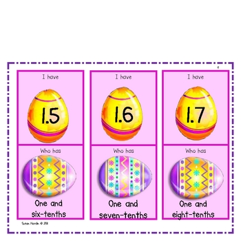Easter Bunny Decimals
