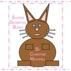 Easter Bunny Geometric Shape Rabbit