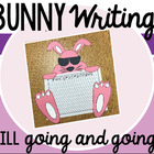 Easter Bunny Page Topper and Writing