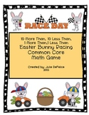 Easter Bunny Racing Game for Common Core Math NBT2