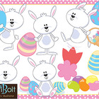 Easter Bunny Time, Clip Art
