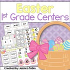 Easter Centers K-2 {5 ELA and 5 Math Centers}