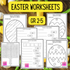 Easter Coloring Page Freebie