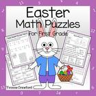 Easter Common Core Math Puzzles - 1st Grade