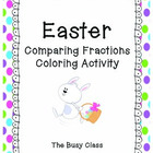 Easter Comparing Fractions Activity